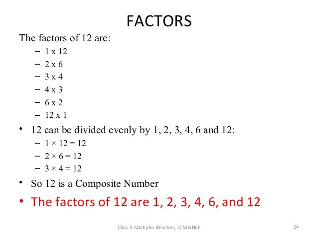 what are the factors of 3