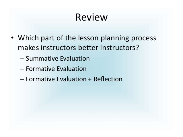 importance of lesson plan Lesson, the effective objectives of a lesson plan describe what students will be able to do in terms of observation, behavior, and using the foreign language spratt, pulverness and williams (2005) pointed out that lesson plan is a series of.