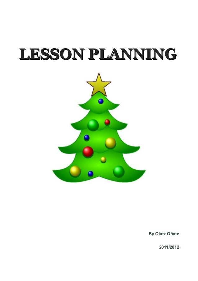 lesson planning christmas