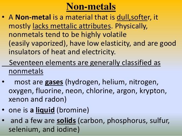 properties of nonmetals - Monza berglauf-verband com