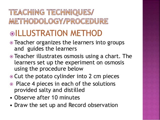 an overview of the experiment the effect of osmosis on a potato This simple osmosis experiment is a great way to teach any new biology  foundational understanding of biology, check out this introduction to.