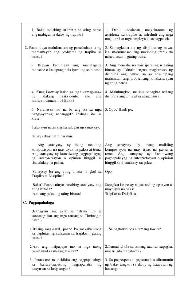 Detailed Lesson Plan sa filipino 3 Slide 3