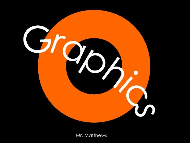 Graphics Mr. Matthews