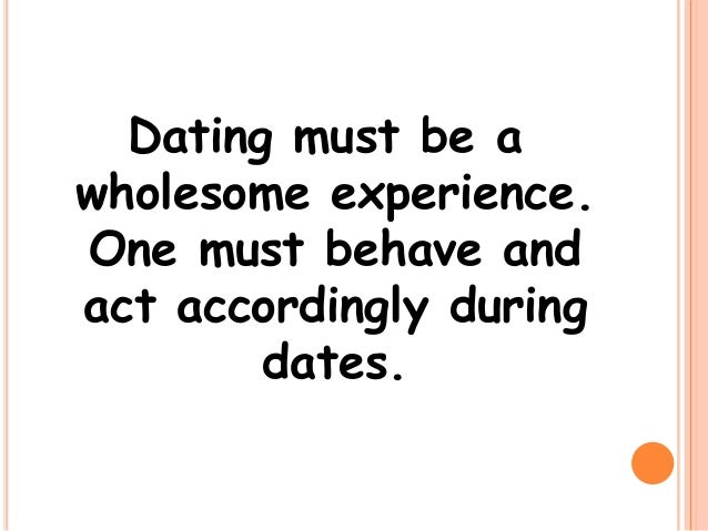 Why Is Courtship And Dating Primary In Choosing A Lifetime Partner