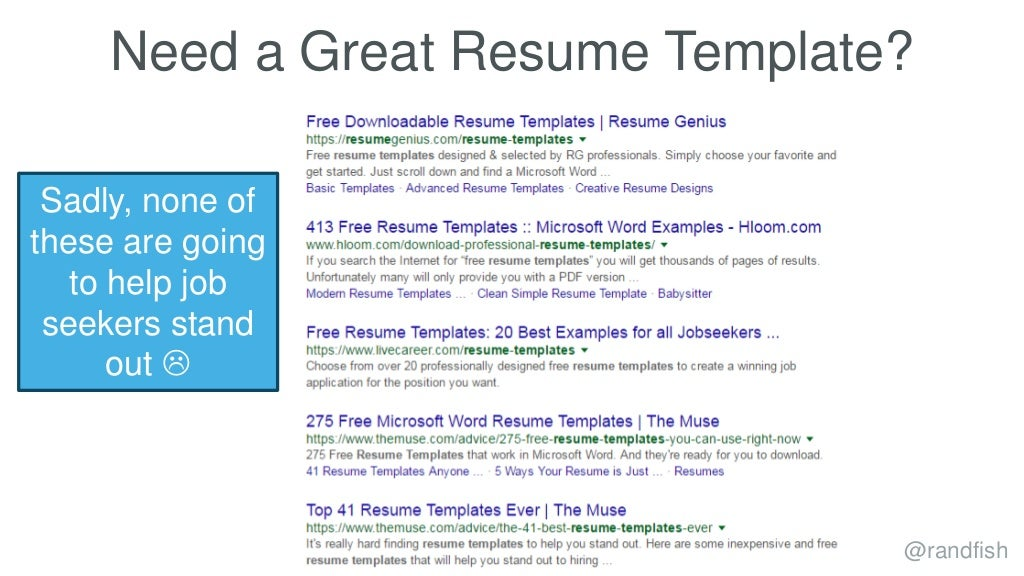 Need a Great Resume Template?