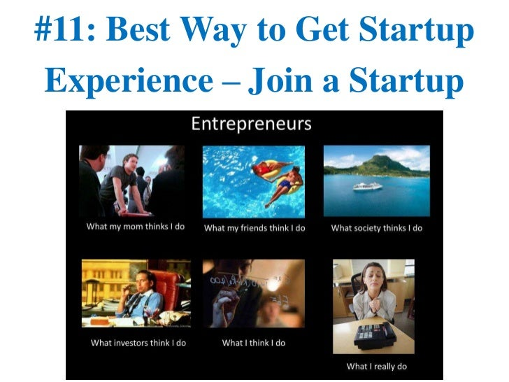 #11: Best Way to Get Startup Experience – Join a Startup