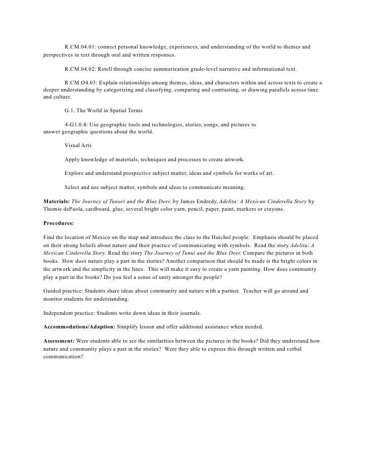 Lessons for diversity unit