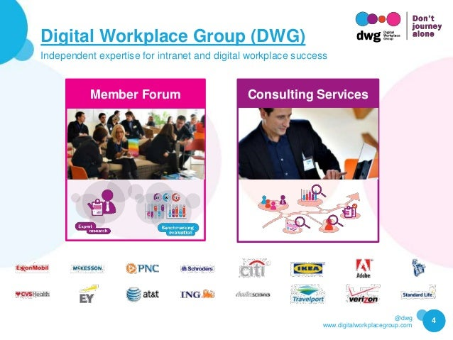 @dwg www.digitalworkplacegroup.com Digital Workplace Group (DWG) Independent expertise for intranet and digital workplace ...