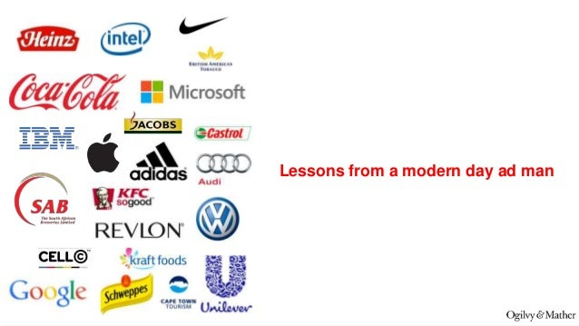 Lessons from a modern day ad man  @ChrisRawlinson