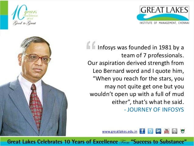 Inspiring words from Narayana Murthy - Lessons from legends Slide 3