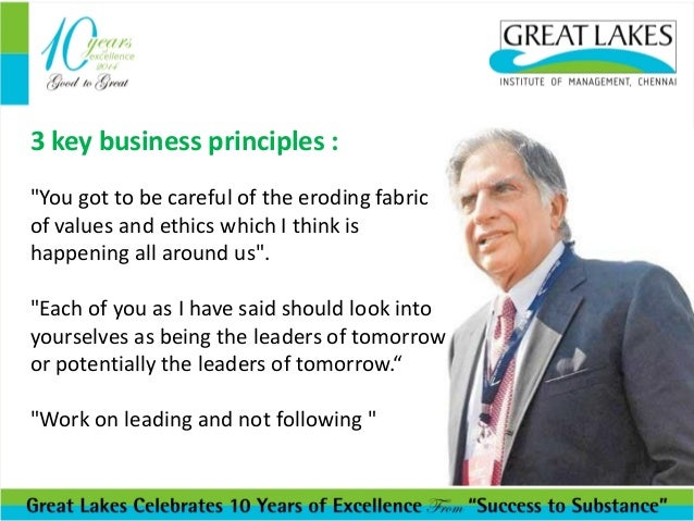 Inspiring Words From Ratan Tata Lessons From Legends