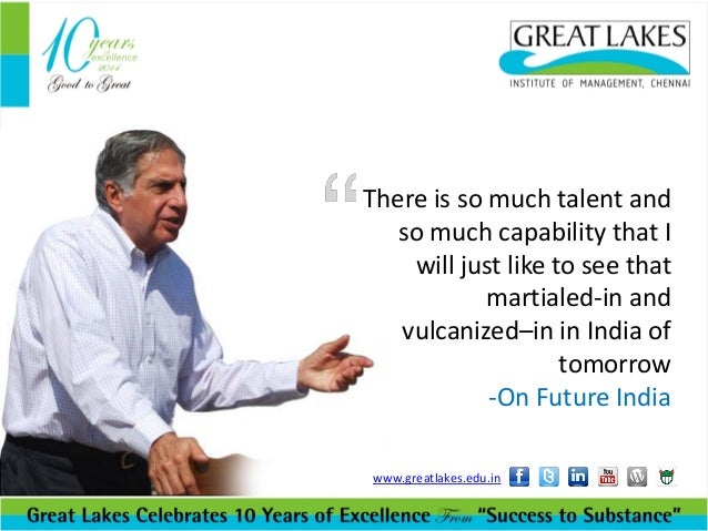 "ratan tata group vision and mission Respect to the swot analysis in order to fulfill the corporate vision tata's mr ratan tata said, ""the tata group's strategy tata strategic management group."