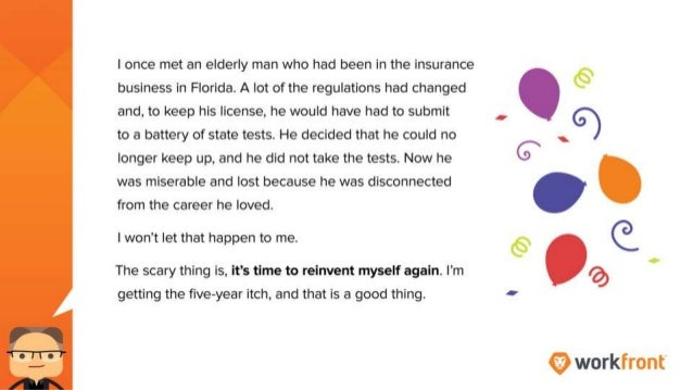 I once met an elderly man who had been in the insurance business in Florida. A lot of the regulations had changed and, to ...