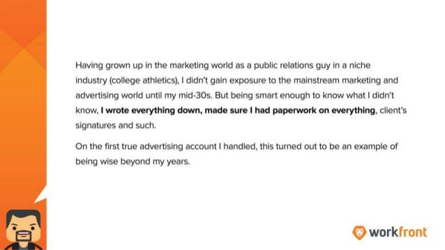 Having grown up in the marketing world as a public relations guy in a niche industry (college athletics), I didn't gain ex...