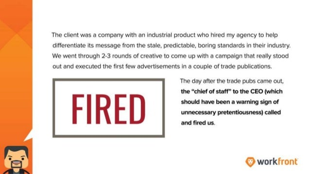 The client was a company with an industrial product who hired my agency to help differentiate its message from the stale, ...