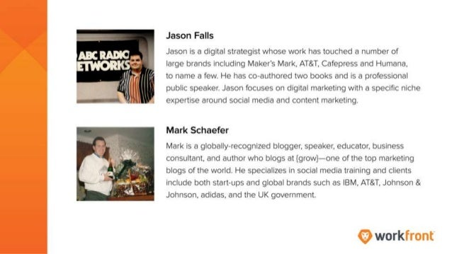 Jason Falls Jason is a digital strategist whose work has touched a number of large brands, including Maker's Mark, AT&T, C...