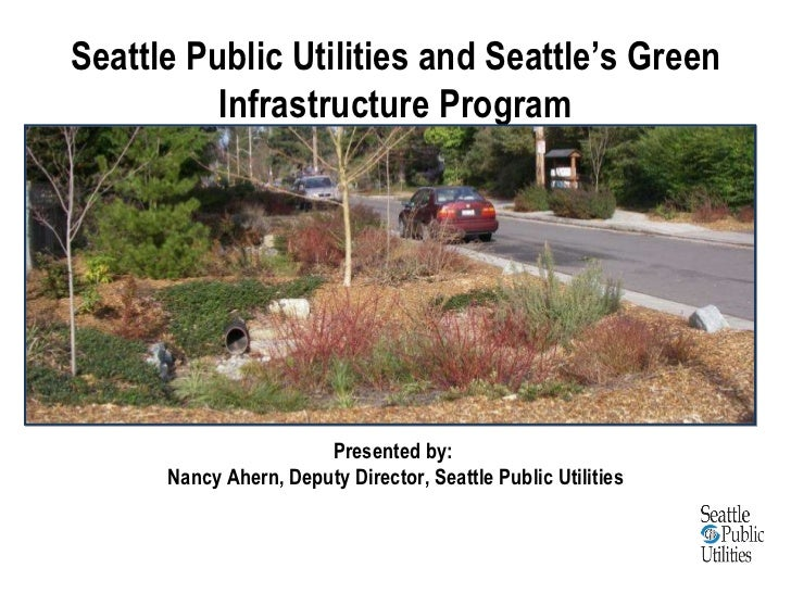 Lessons learned from green infrastructure project experience in developing code requirements and community engagement Slide 3