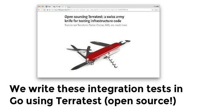 "terraformOptions := &terraform.Options { TerraformDir: ""../examples/vault-with-elb"", } defer terraform.Destroy(t, terrafor..."
