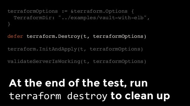 """Pro tip #1: run tests in completely separate """"sandbox"""" accounts"""