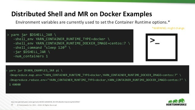 Lessons learned running a container cloud on YARN
