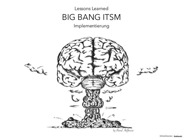 Lessons Learned BIG BANG ITSM Implementierung by Bernd Hoffmeier © AlexOakenman - fotolia.com