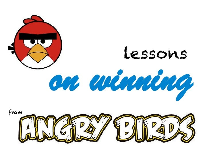 lessons       on winningfrom