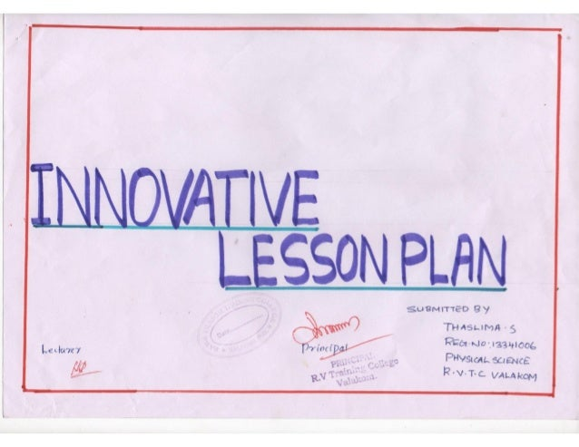 Lesson template