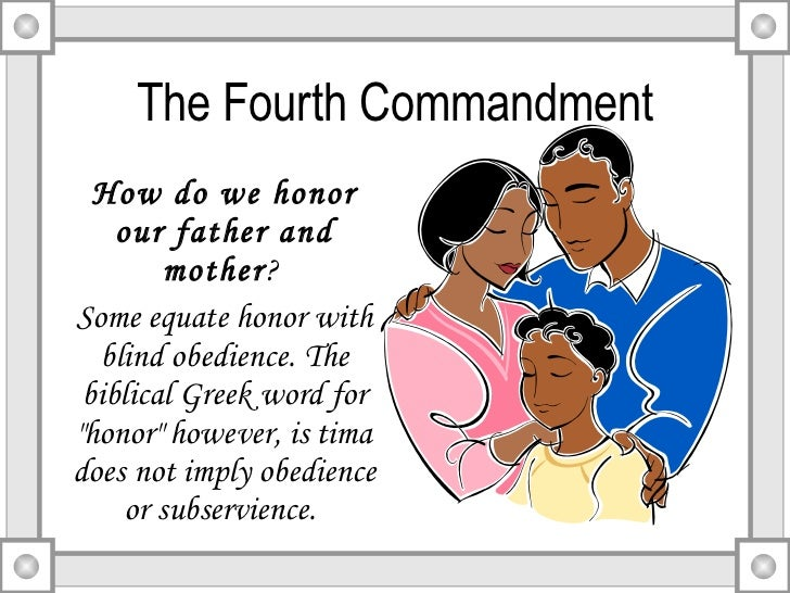 Lesson xiv the fourth commandment