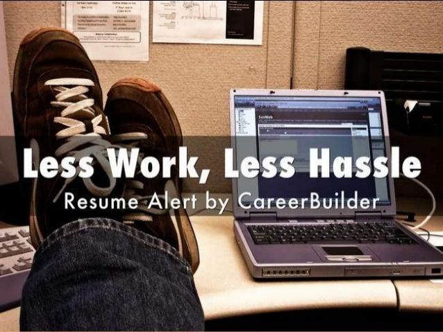 does posting resume on careerbuilder work