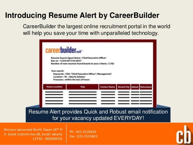 CareerBuilder Job Post Examples  Careerbuilder Create Resume