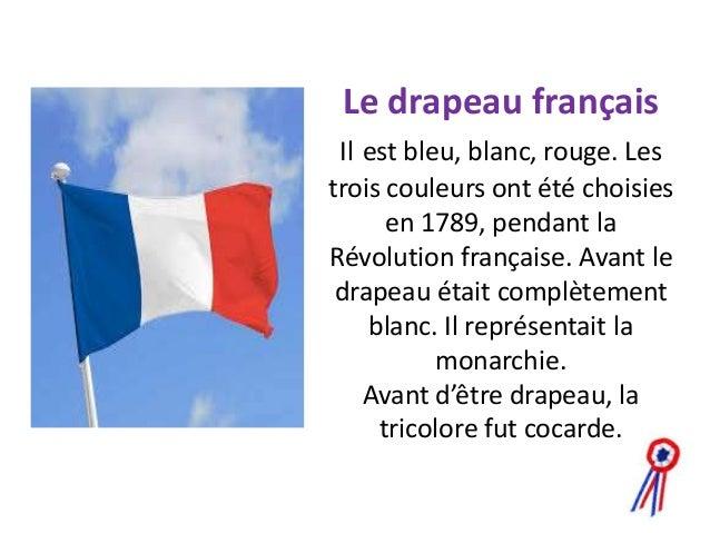 Les symboles de la france for Que represente la couleur rouge