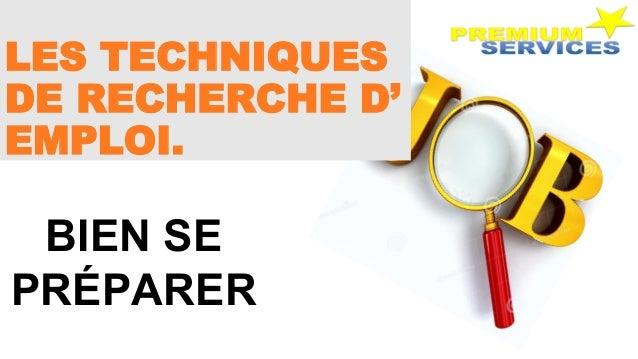 les techniques de recherche d u0026 39 emploi