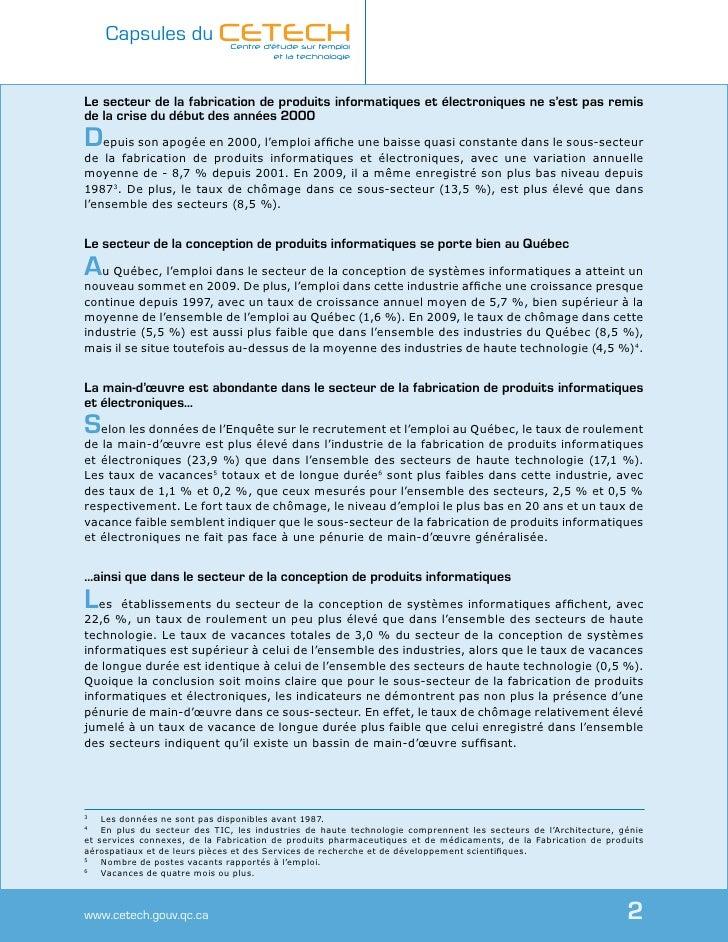 Les technologies de_linformation_et_des_communications_un_secteur_a_deux_vitesses Slide 2