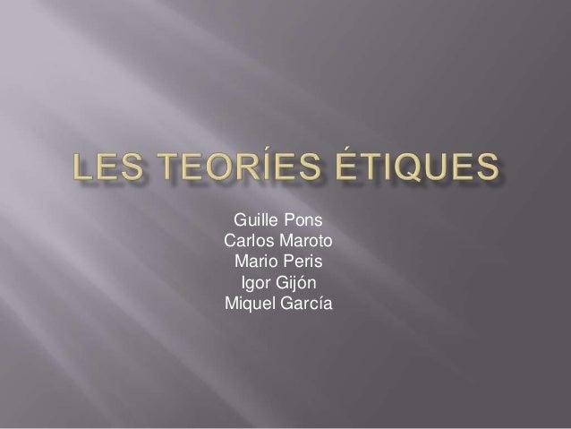 Guille PonsCarlos Maroto Mario Peris  Igor GijónMiquel García