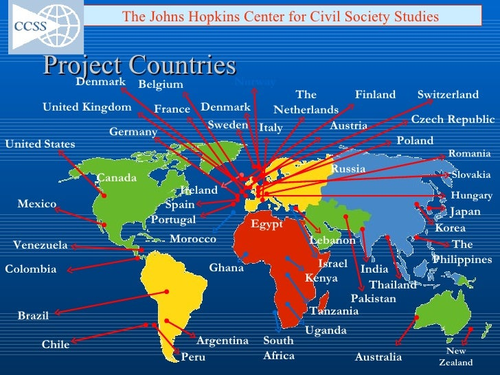 Putting civil society on the economic and policy map of the world