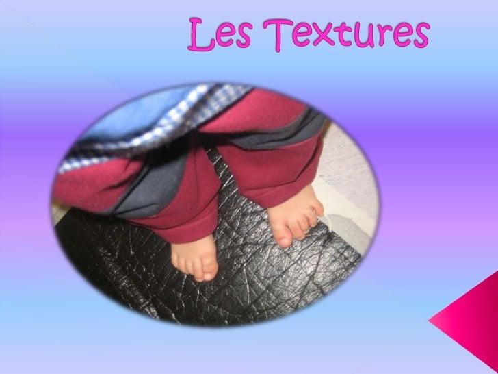 Les textures