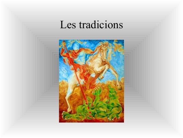 Les tradicions