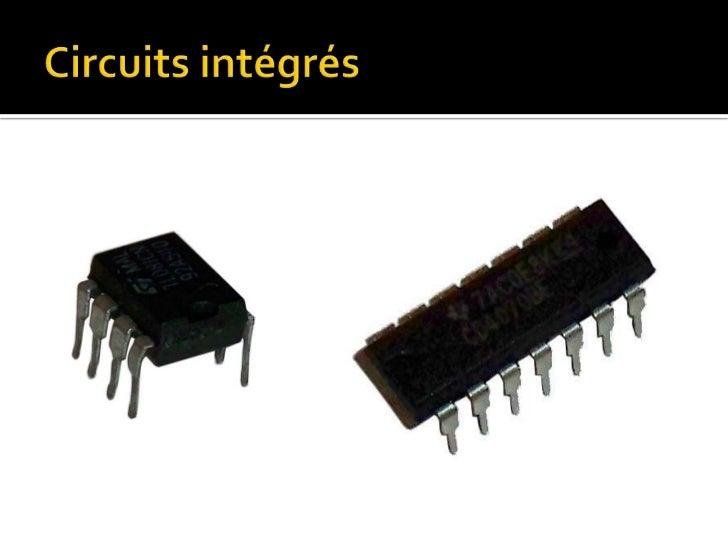 Les transistor et la logique for Le transistor