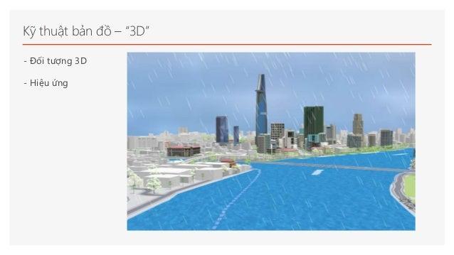 """Kỹ thuật bản đồ – """"3D"""" - Đối tượng 3D - Hiệu ứng"""