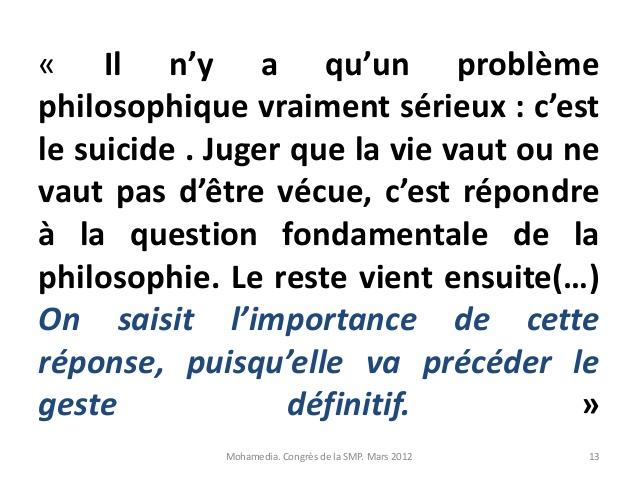 Bekannt Le suicide un eclairage autre apport de la littérature et de la philo… MF61