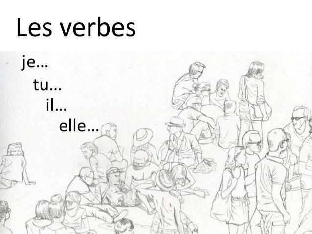 Les verbes je… tu… il… elle…