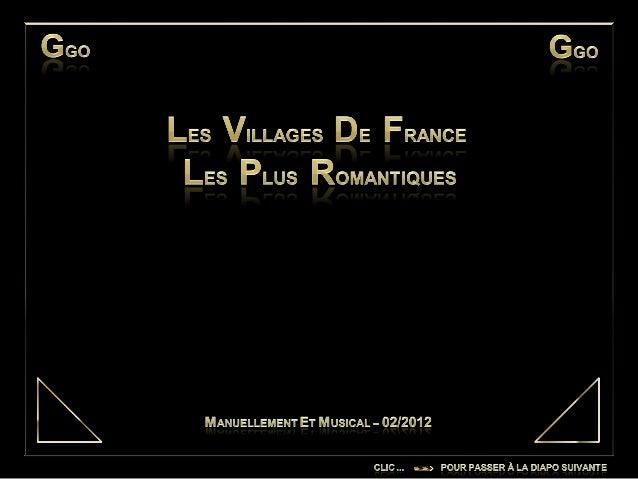 Les villages de_france_les_plus_romaniques