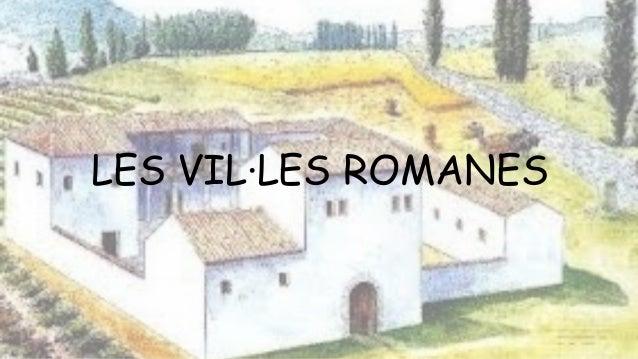 LES VIL·LES ROMANES