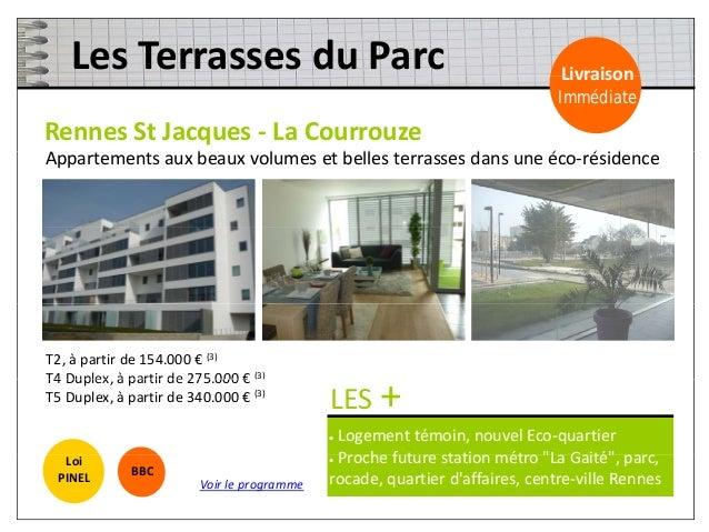 1 – Des frais de notaire offerts 2 – Une remise commerciale sur mesure T2 : - 3.000 € / T3 : - 5.000 € / T4 & T5 : - 7.000...
