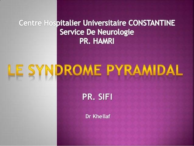 PR. SIFI Dr Khellaf