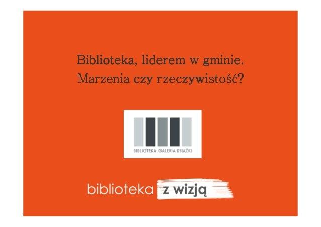 oświęcimska biblioteka z wizją