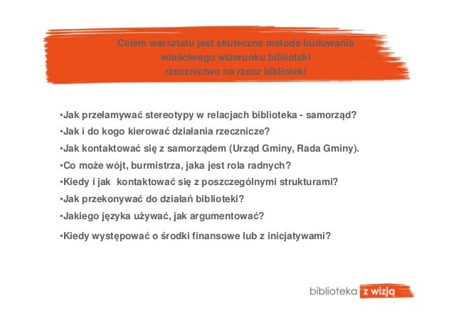 Biblioteka liderem w gminie. Marzenia czy rzeczywistość? / Leszek Palus, Mariola Talewicz Slide 3