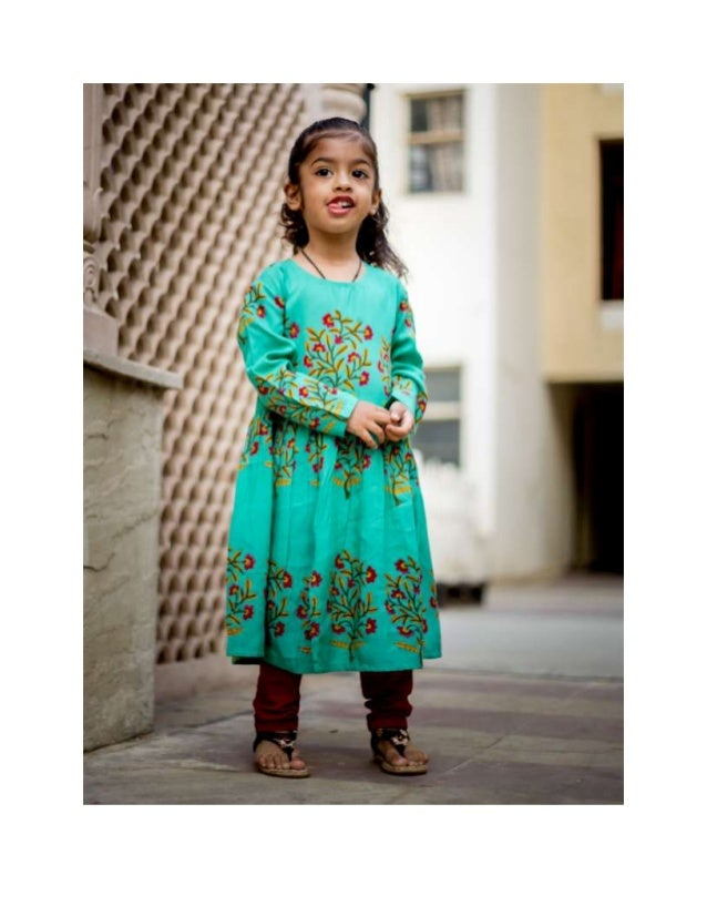 1c62b72b7c4 Let s Dip into the Mix Trends of the Indo-Western Dresses for Baby Gi…