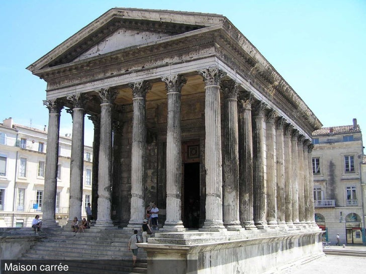 Le temple grec for Architecture grec