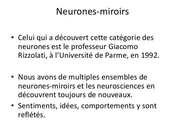 L 39 ethique soluble dans l 39 efficience for Neurones miroir